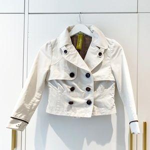 Creamy White Crop jacket from Soia & Kyo